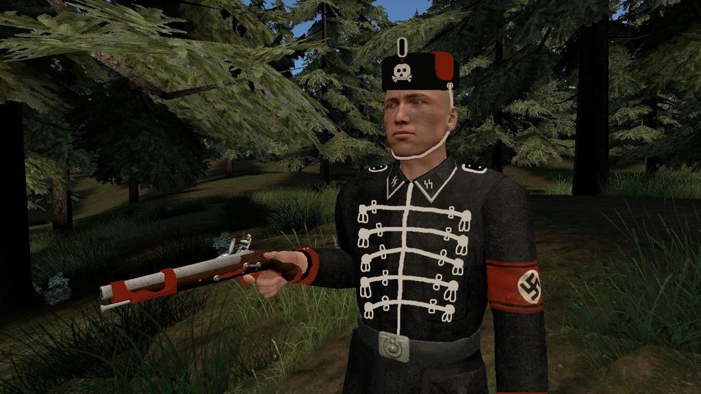 World War 2 Nazi German Hussar. by spencerbt123