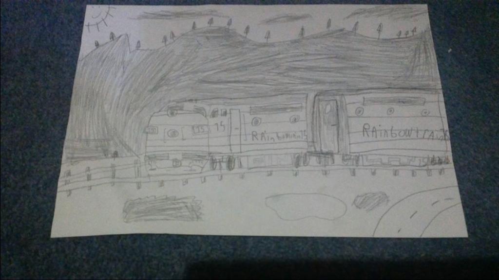 My Oldest Sketch Of Me. by spencerbt123