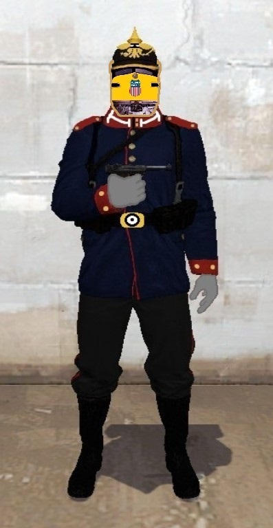 The Prussian Pacific Army Officer