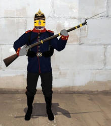 The Prussian Pacific Army Soldier