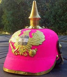 The Pink Pickelhaube