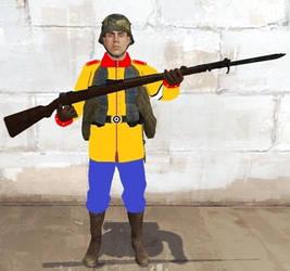 The Bunderstem Strumtruppen Soldier