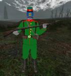The CSX Gertsogstvo Soldier