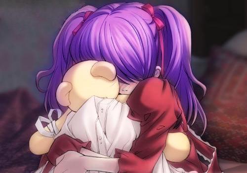 Sad Anime Child by iRawrrYew