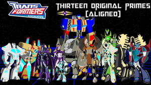 Transformers Animated - Thirteen Original Primes I