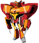 Transformers Animated - Infinitus Prime (Sentinel)