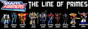 Transformers Animated - Prime Lineage