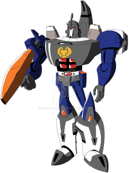 Transformers Animated - Galvatron (Marvel Colors)