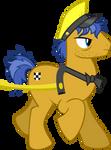 MLP : FiM S4E8 Taxi Pony Vector