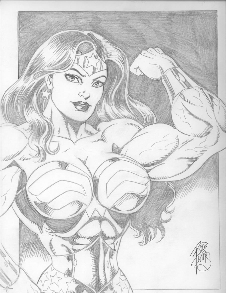Wonder Woman Robb Phipps by up2nogd1