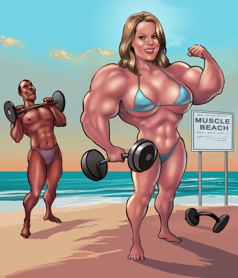 Bridgit Mendler Muscle Beach by up2nogd1 on DeviantArt