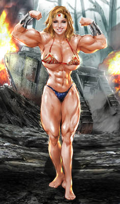 Bridgit Mendler WW Tank Destroy by AleBorgo