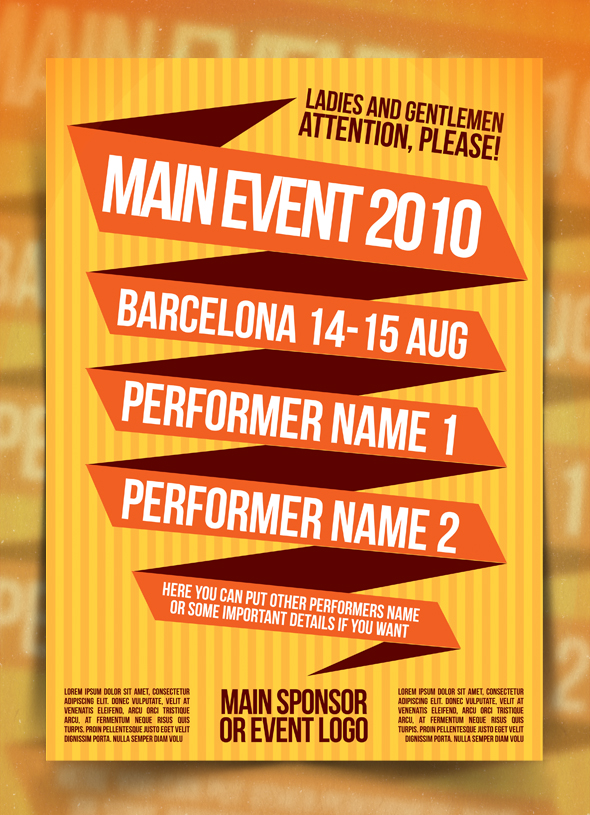 event poster templates free koni polycode co