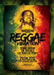 Reggae Poster Template Vol. 4