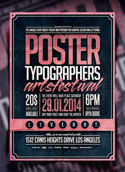 Typography Poster Template Vol. 2