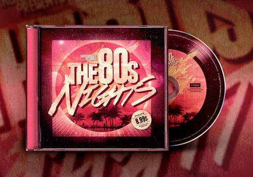 80s CD Album Artwork Template Vol. 2