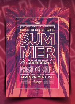 Summer Poster Template Vol. 5