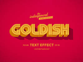Retro Vintage Text Effect No.4 by IndieGround