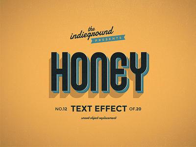 Retro Vintage Text Effect No.12