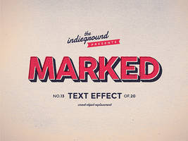Retro Vintage Text Effect No.13 by IndieGround