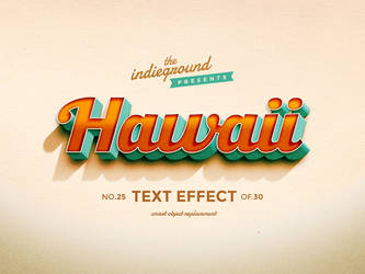 Retro Vintage Photoshop Text Effect No.25 by IndieGround