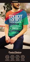 Urban T-shirt Photoshop Mockups