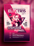 Electro Poster Template Vol. 9