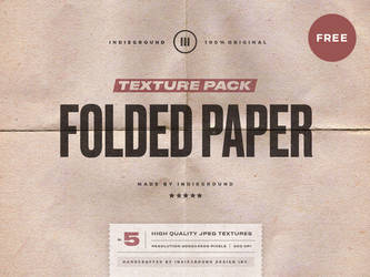 Free Folded Paper Textures