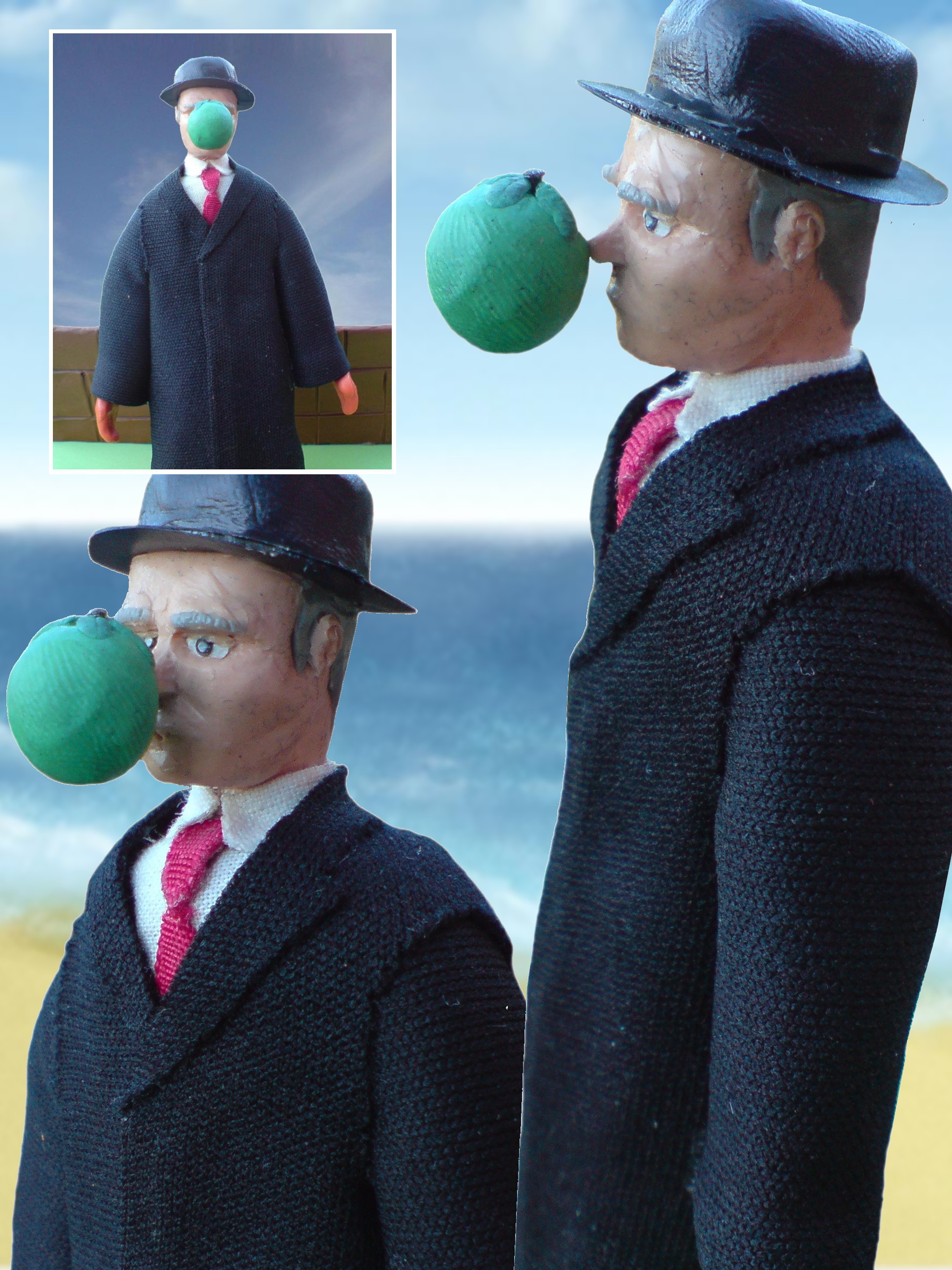Rene Magritte: 'Son of man'