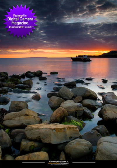Kimmeridge Bay Sunset III by Neutron2K