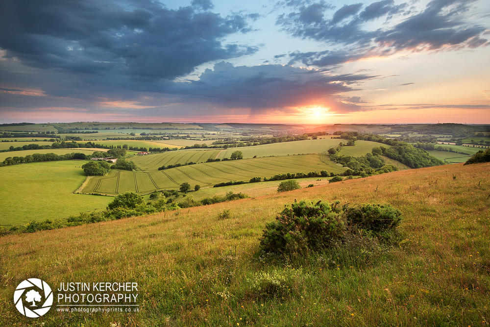 Butser Hill Sunset