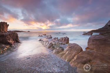 Wildersmouth Beach Sunset