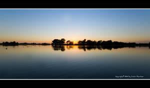 The Sunset Lake by Neutron2K