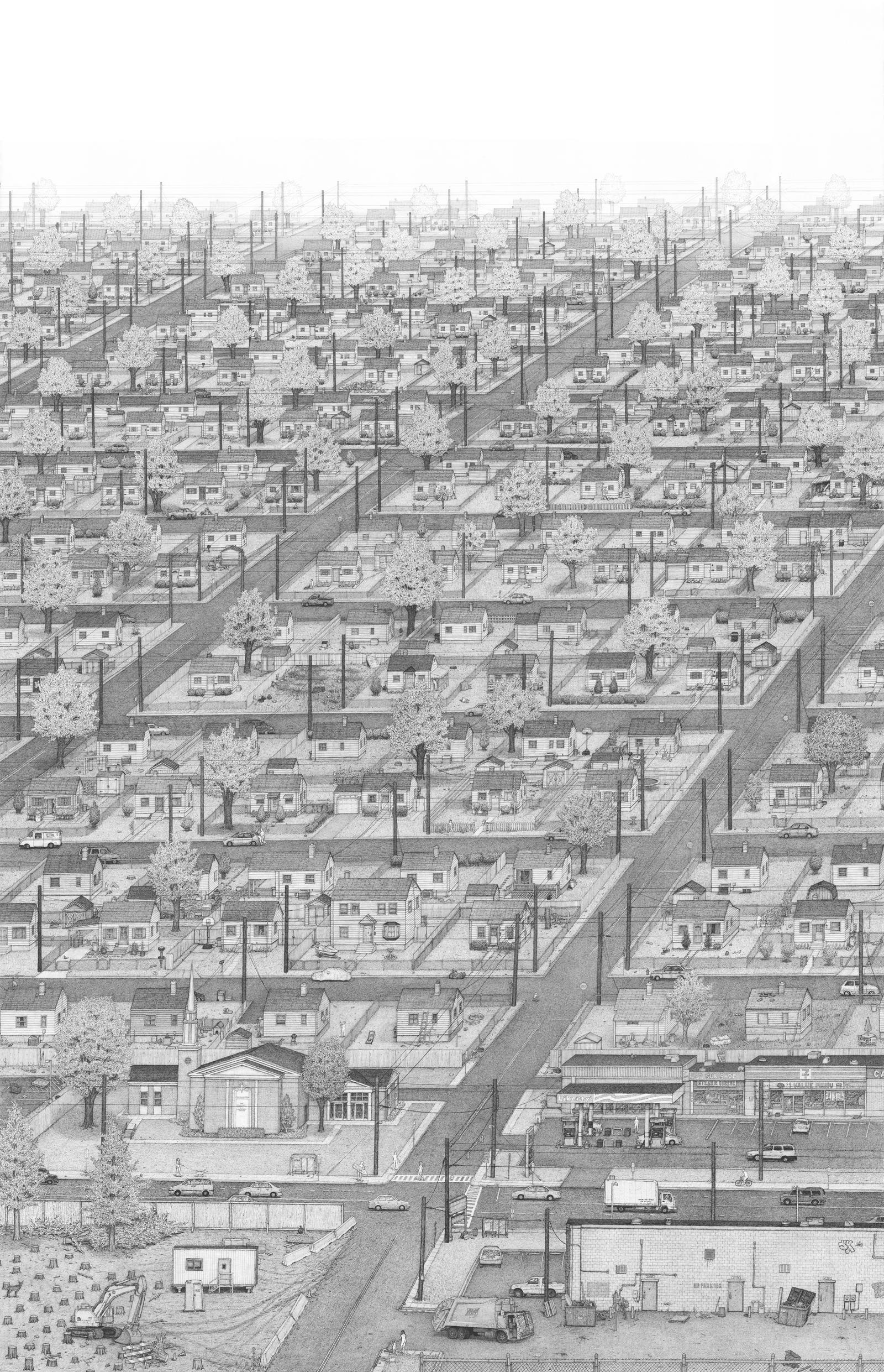 Suburbs by bentolman