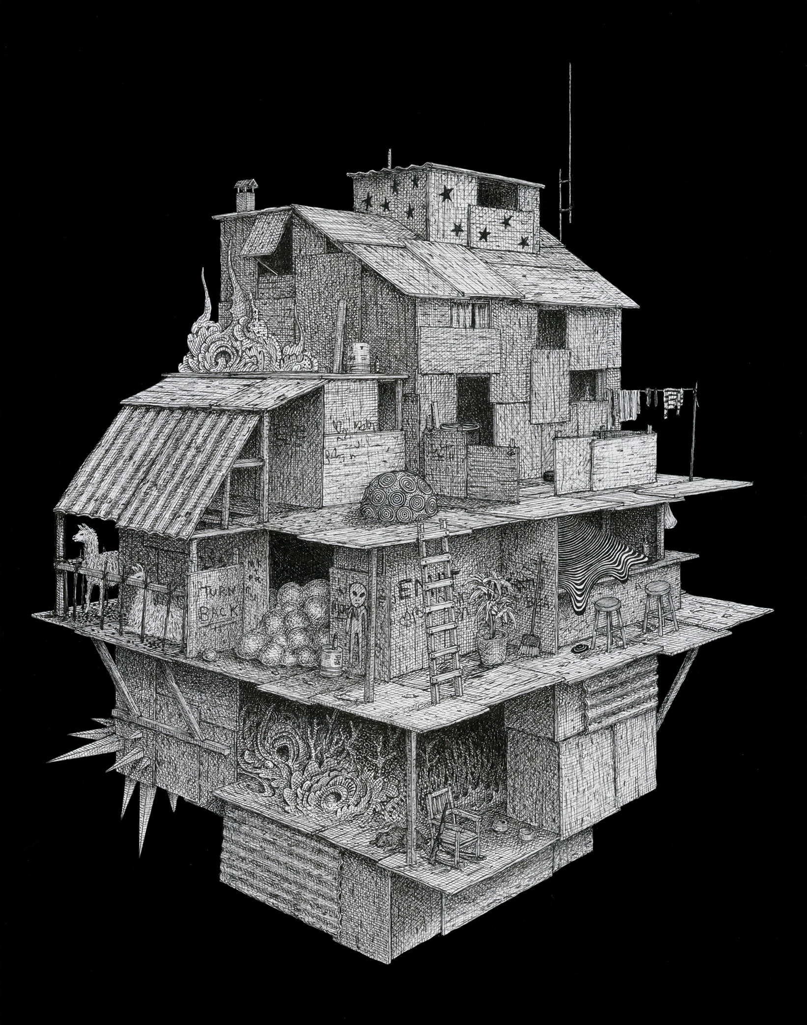 Shanty Spaceship by bentolman