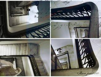 Instrucciones subir escalera
