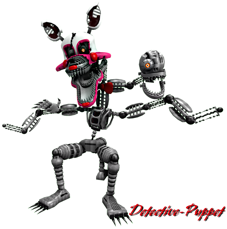 Nightmare mangle by detective puppet on deviantart