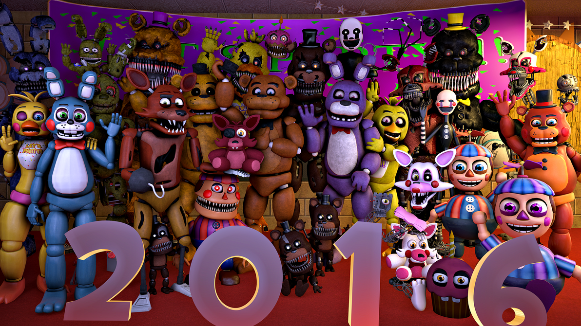 Sfm fnaf happy new years by detective puppet on deviantart