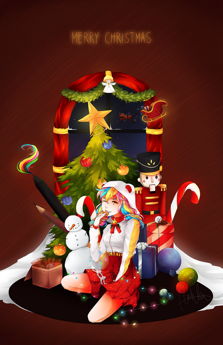 Picarto Christmas 2015 by anhvan44
