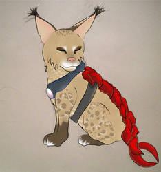 MYO Shrimptail Cat - Zev