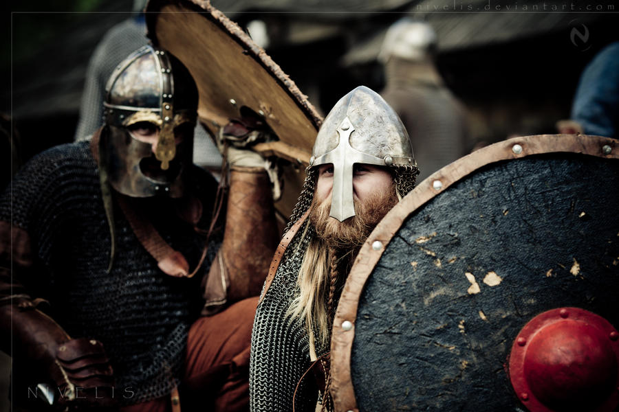 Image of Viking warriors