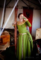 Medieval Girls #9 by Nivelis