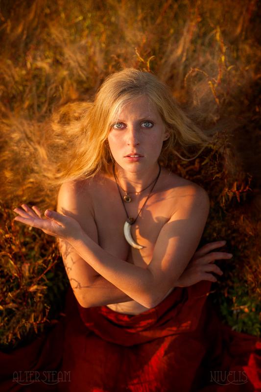 Fiery Slavic Girl by Nivelis