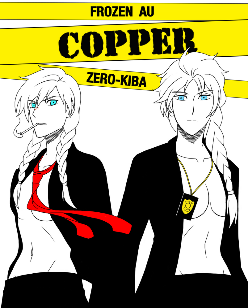 Frozen AU Copper Cover 3 by Zero-Kiba
