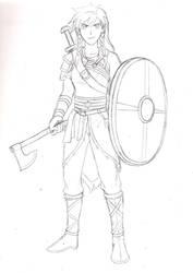 The Realm AU: Anna Concept by Zero-Kiba