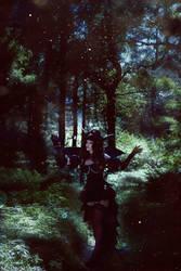 Dark forest fairy