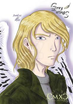 Grey Wings Portraits: Aurelius [COMMISSION]