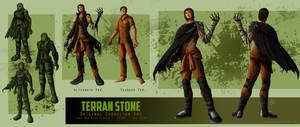 Original Character Concept: Terran Stone (Updated)