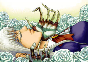 Lovers in Roses