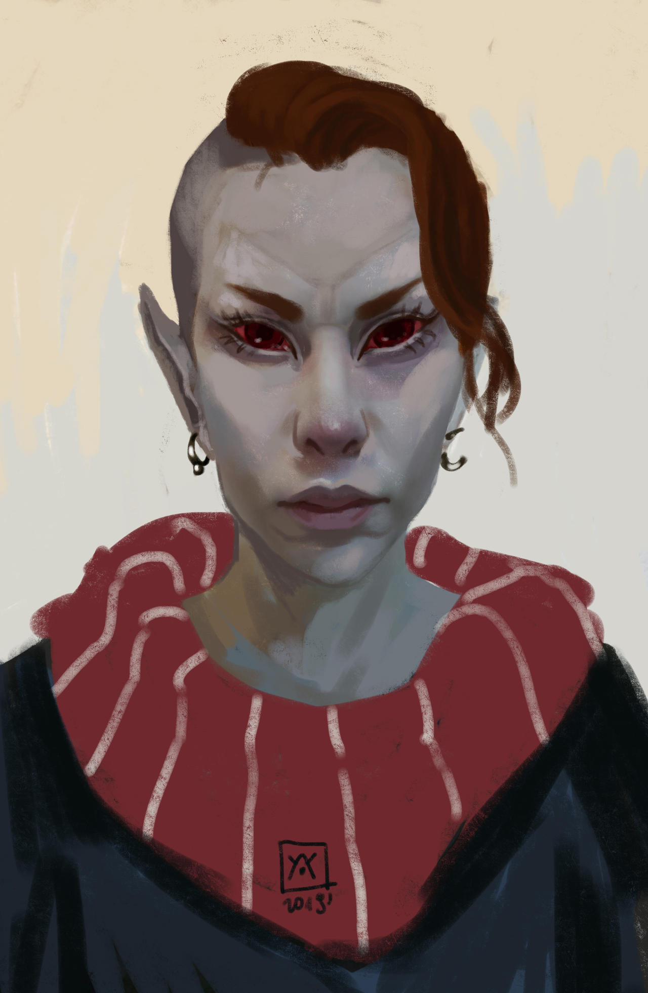 Dunmer woman